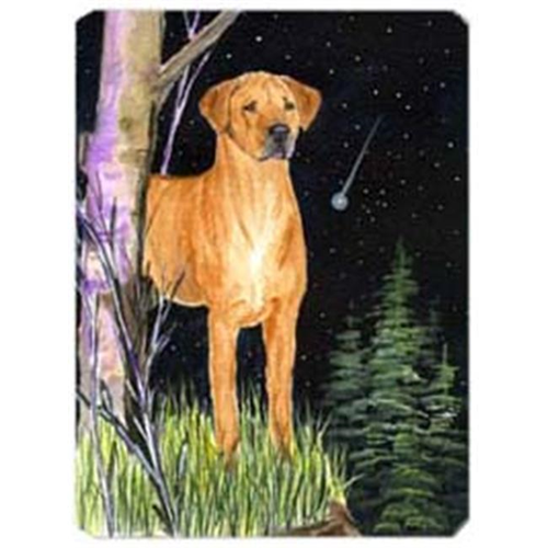 Carolines Treasures SS8479MP Starry Night Rhodesian Ridgeback Mouse Pad