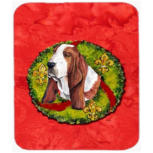 Carolines Treasures SC9100MP Basset Hound Mouse Pad Hot Pad Or Trivet
