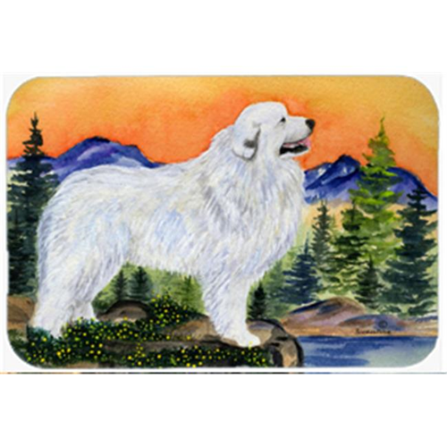 Carolines Treasures SS8183MP Great Pyrenees Mouse Pad Hot Pad & Trivet