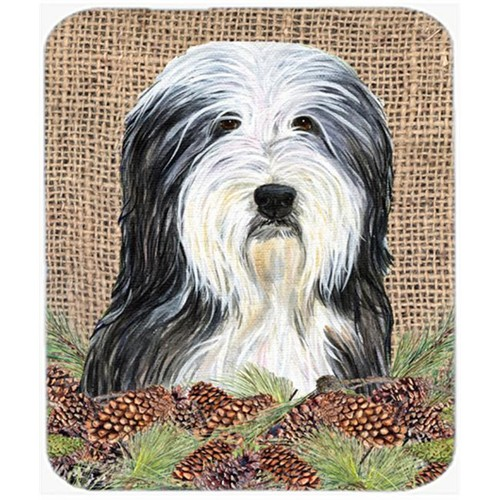 Carolines Treasures SS4087MP Bearded Collie Mouse Pad Hot Pad Or Trivet