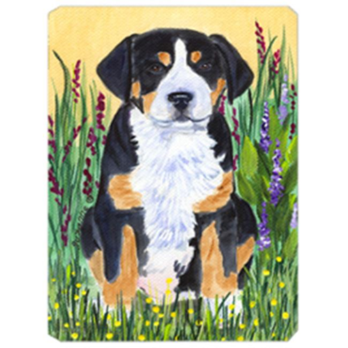 Carolines Treasures SS8217MP Greater Swiss Mountain Dog Mouse Pad Hot Pad & Trivet