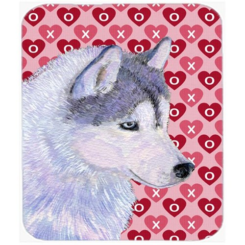 Carolines Treasures SS4464MP Siberian Husky Hearts Love And Valentines Day Mouse Pad Hot Pad Or Trivet