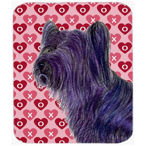 Carolines Treasures SS4463MP Skye Terrier Hearts Love And Valentines Day Mouse Pad Hot Pad Or Trivet