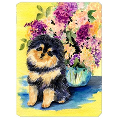 Carolines Treasures SS8290MP Pomeranian Mouse Pad Hot Pad & Trivet