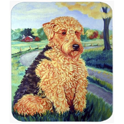 Carolines Treasures 7096MP 9.5 x 8 in. AiredaleTerrier Mouse Pad Hot Pad or Trivet