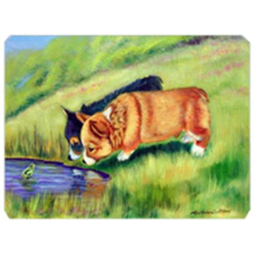 Carolines Treasures 7292MP 8 x 9.5 in. Corgi Mouse Pad Hot Pad or Trivet