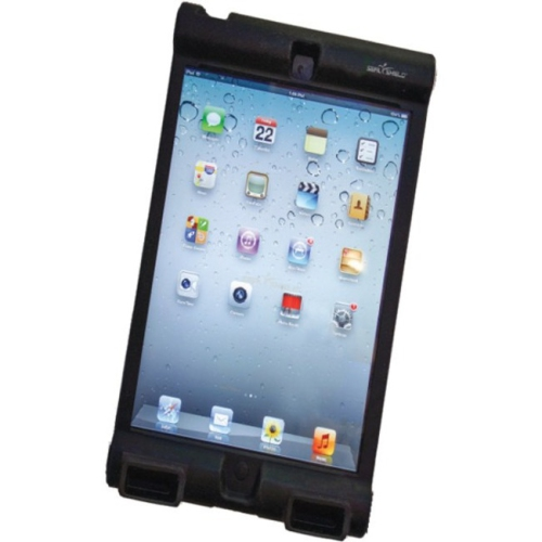 Seal Shield Ipad Mini Bumper Case Silicone Ipad Mini Blk Antimicrobial Bumper Case Silicone - SBUMPERIM