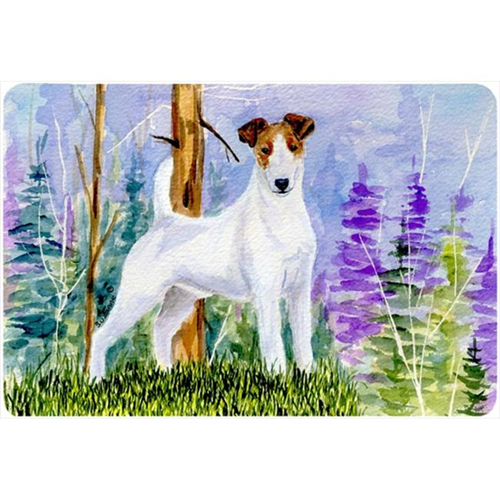 Carolines Treasures SS8637MP Jack Russell Terrier Mouse pad hot pad or trivet