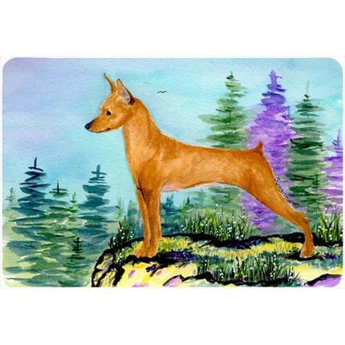 Carolines Treasures SS8660MP Min Pin Mouse pad hot pad or trivet