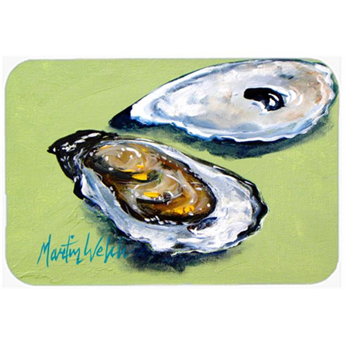 Carolines Treasures MW1102MP Oysters Two Shells Mouse Pad Hot Pad or Trivet