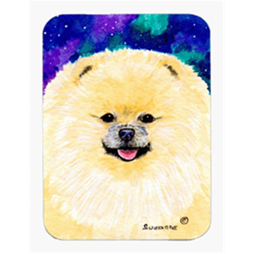 Carolines Treasures SS8997MP Pomeranian Mouse Pad & Hot Pad & Trivet