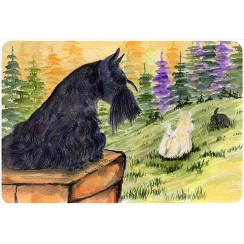 Carolines Treasures SS8634MP Scottish Terrier Mouse pad hot pad or trivet