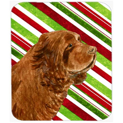 Carolines Treasures SS4579MP Sussex Spaniel Candy Cane Holiday Christmas Mouse Pad Hot Pad Or Trivet