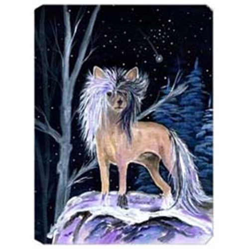 Carolines Treasures SS8390MP Starry Night Chinese Crested Mouse Pad
