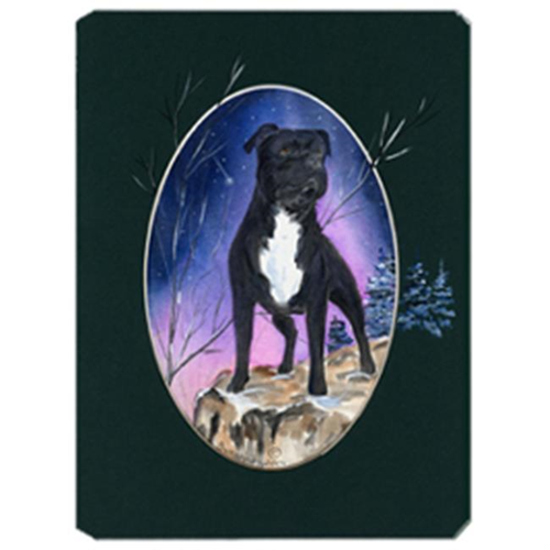 Carolines Treasures SS8072MP Staffie Mouse Pad Hot Pad & Trivet