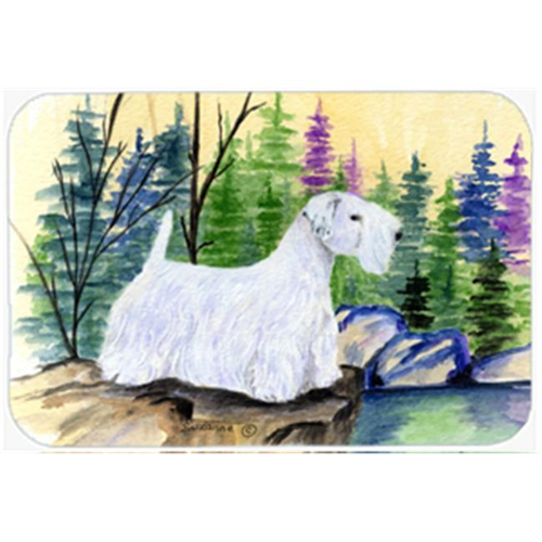 Carolines Treasures SS8104MP Sealyham Terrier Mouse Pad Hot Pad & Trivet