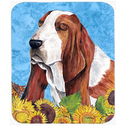 Carolines Treasures SC9066MP Basset Hound Mouse Pad Hot Pad Or Trivet