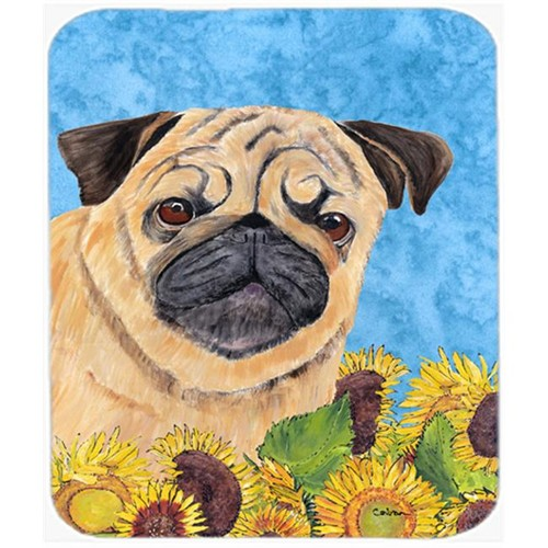 Carolines Treasures SC9068MP Pug Mouse Pad Hot Pad Or Trivet
