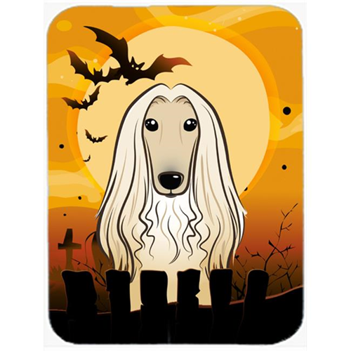 Carolines Treasures BB1802MP Halloween Afghan Hound Mouse Pad Hot Pad & Trivet