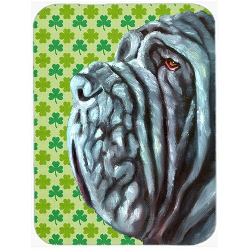 Carolines Treasures LH9568MP Neapolitan Mastiff St. Patricks Day Shamrock Mouse Pad Hot Pad & Trivet