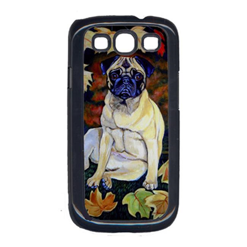 Carolines Treasures 7160GALAXYSIII Old Fawn Pug In Fall Cell Phone Cover Galaxy S111