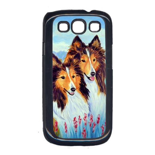 Carolines Treasures 7086GALAXYSIII Two Sable Shelties Cell Phone Cover Galaxy S111