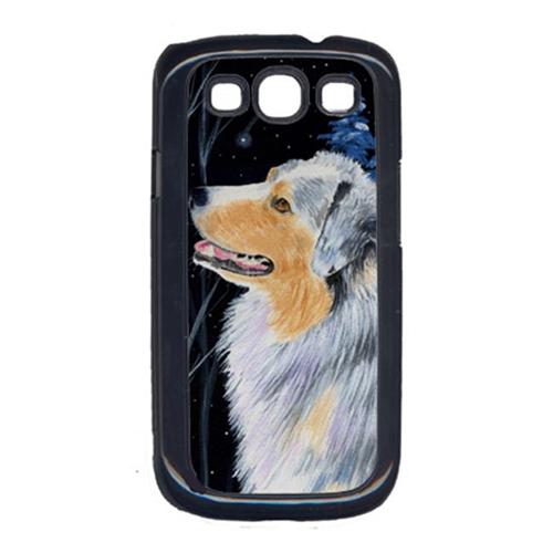 Carolines Treasures SS8382GALAXYSIII Starry Night Australian Shepherd Cell Phone Cover Galaxy S111