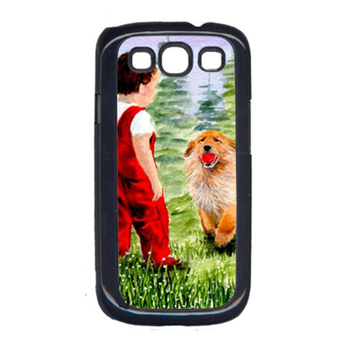 Carolines Treasures SS8545GALAXYSIII Little Boy With His Golden Retriever Galaxy S111 Cell Phone Cover