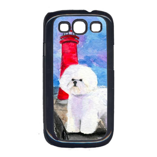 Carolines Treasures SS8891GALAXYSIII Lighthouse with Bichon Frise Cell Phone Cover Galaxy S111