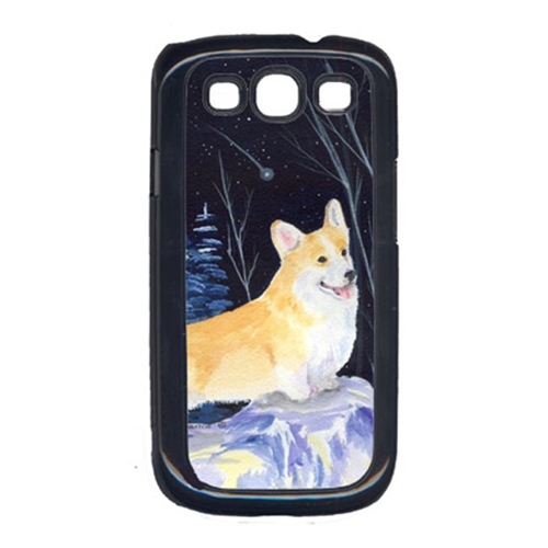 Carolines Treasures SS8353GALAXYSIII Starry Night Corgi Galaxy S111 Cell Phone Cover