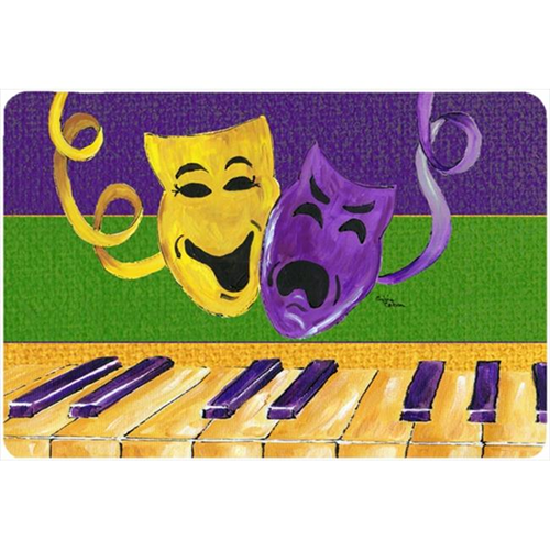 Carolines Treasures 8383MP 9.5 x 8 in. Mardi Gras Mouse Pad Hot Pad Or Trivet