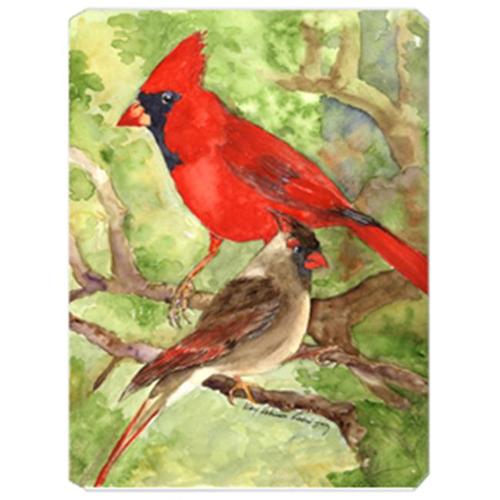 Carolines Treasures KR9007MP 9.5 x 8 in. Bird - Northern Cardinal Mouse Pad Hot Pad Or Trivet