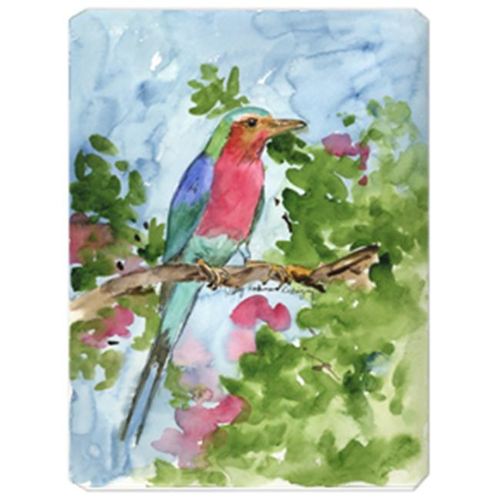 Carolines Treasures KR9010MP 9.5 x 8 in. Bird - Lilac Breasted Roller Mouse Pad Hot Pad Or Trivet