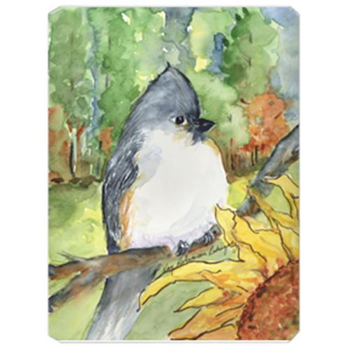 Carolines Treasures KR9018MP 9.5 x 8 in. Bird - Tufted Titmouse Mouse Pad Hot Pad Or Trivet