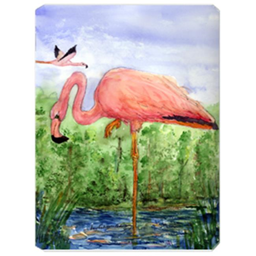 Carolines Treasures KR9030MP 9.5 x 8 in. Bird - Flamingo Mouse Pad Hot Pad Or Trivet