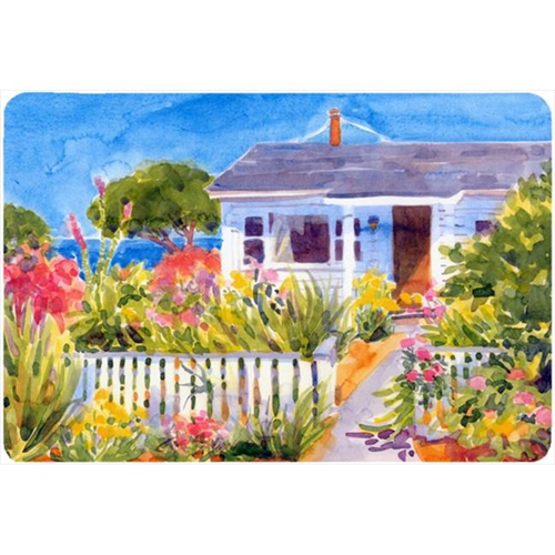 Carolines Treasures 6034MP Seaside Beach Cottage Mouse Pad Hot Pad Or Trivet