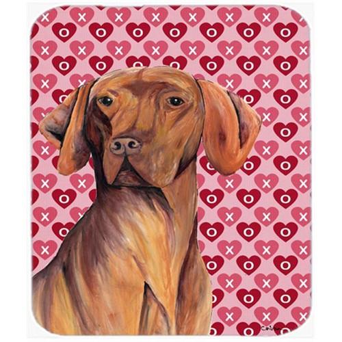 Carolines Treasures SC9261MP Vizsla Hearts Love And Valentines Day Portrait Mouse Pad Hot Pad Or Trivet