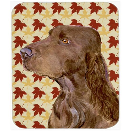 Carolines Treasures SS4331MP Field Spaniel Fall Leaves Portrait Mouse Pad Hot Pad Or Trivet