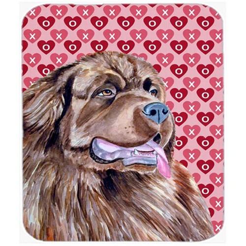 Carolines Treasures LH9129MP Newfoundland Hearts Love And Valentines Day Mouse Pad Hot Pad or Trivet