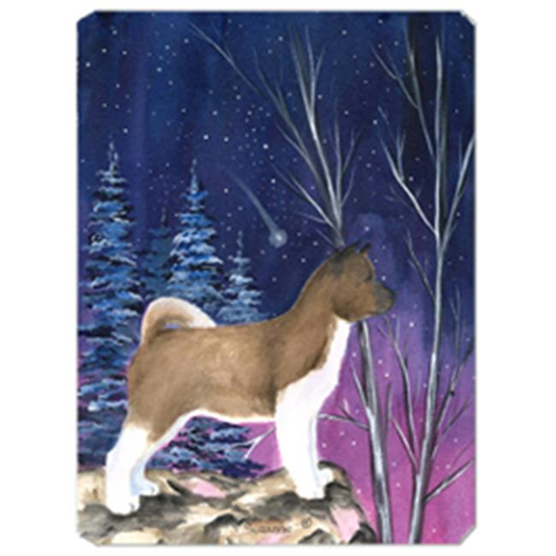 Carolines Treasures SS8352MP Starry Night Akita Mouse Pad