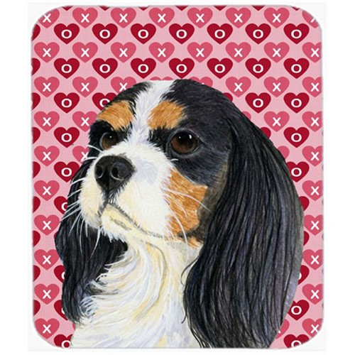 Carolines Treasures LH9144MP Cavalier Spaniel Hearts Love And Valentines Day Mouse Pad Hot Pad or Trivet