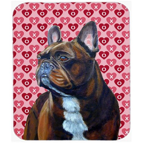 Carolines Treasures LH9160MP French Bulldog Hearts Love And Valentines Day Mouse Pad Hot Pad or Trivet