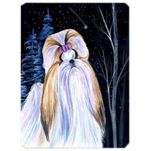 Carolines Treasures SS8381MP Starry Night Shih Tzu Mouse Pad