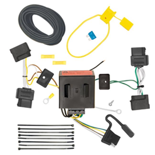 Tow Ready 118551 T-One Connector Assembly With Upgraded Circuit Protected Modulite HD Module 4 x 5.60 x 9 in.
