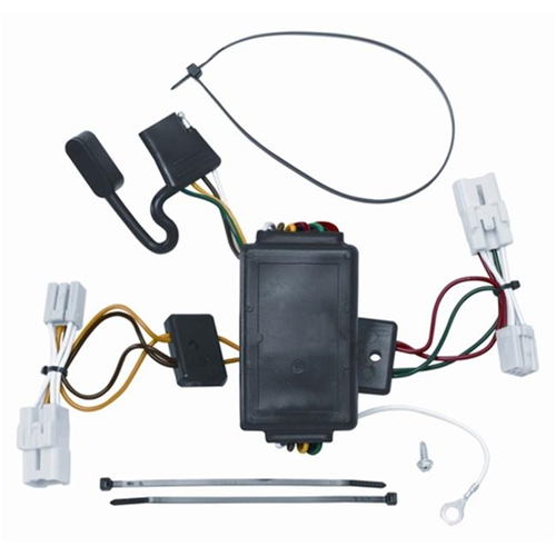 Tow Ready 118414 T-One Connector Assembly With Circuit Protected Converter 3.98 x 3.63 x 8.88 in.