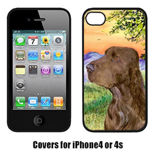 Carolines Treasures SS1017IP4 Field Spaniel Iphone 4 Cover