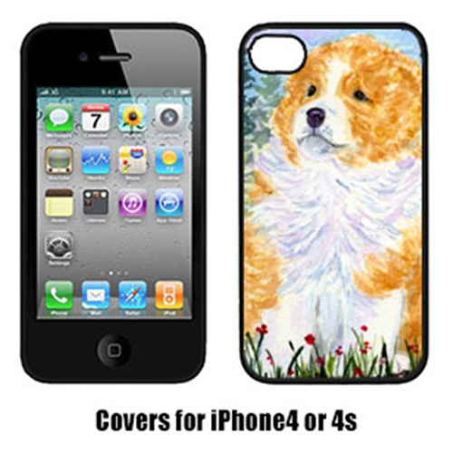 Carolines Treasures SS8918IP4 Sheltie Cell Phone Cover Iphone4