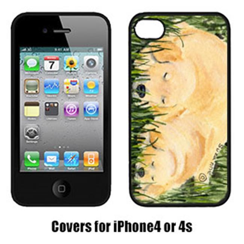 Carolines Treasures SS8838IP4 Golden Retriever Iphone 4 Cover