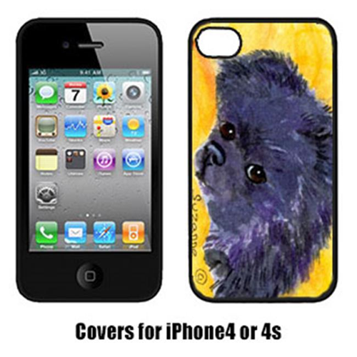 Carolines Treasures SS8839IP4 Pomeranian Iphone 4 Cover