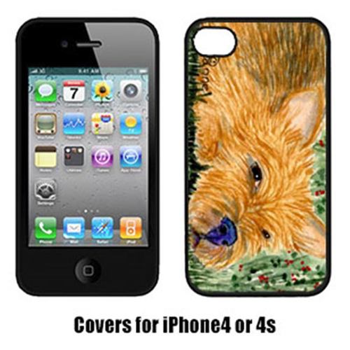 Carolines Treasures SS8862IP4 Norwich Terrier Iphone 4 Cover